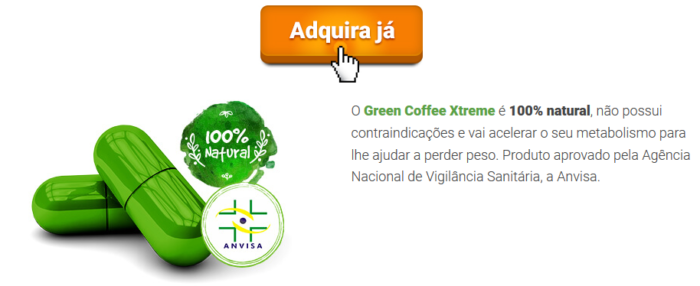 green coffee adquira ja